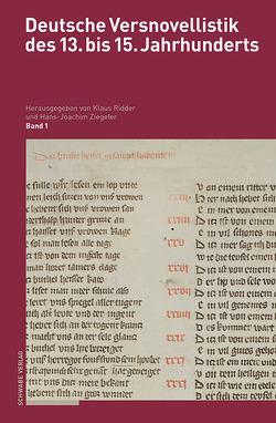 Deutsche Versnovellistik des 13. bis 15. Jahrhunderts von Ridder,  Klaus, Ziegeler,  Hans-Joachim