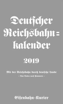 Deutscher Reichsbahn-Kalender 2019