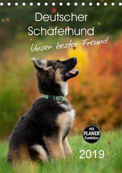 Deutscher Schäferhund – unser bester Freund (Tischkalender 2019 DIN A5 hoch) von Schiller,  Petra