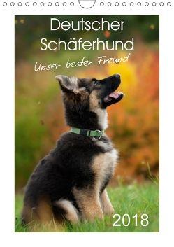 Deutscher Schäferhund – unser bester Freund (Wandkalender 2018 DIN A4 hoch) von Schiller,  Petra