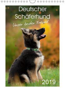 Deutscher Schäferhund – unser bester Freund (Wandkalender 2019 DIN A4 hoch) von Schiller,  Petra