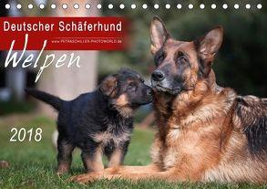 Deutscher Schäferhund – Welpen / CH-Version (Tischkalender 2018 DIN A5 quer) von Schiller,  Petra