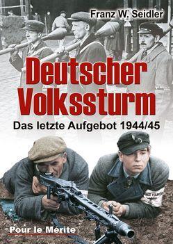 Deutscher Volkssturm von Seidler,  Franz W