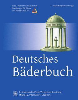 Deutsches Bäderbuch von Käß,  Hanna, Käss,  Werner