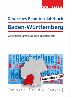 Deutsches Beamten-Jahrbuch Baden-Württemberg 2020 von Walhalla Fachredaktion