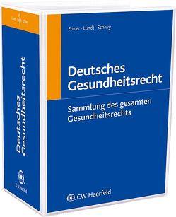 Deutsches Gesundheitsrecht von Schiwy,  Peter