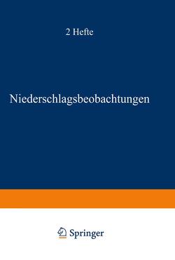 Deutsches Meteorologisches Jahrbuch 1938 von Deutsches Reich Reichsamt für Wetterdienst