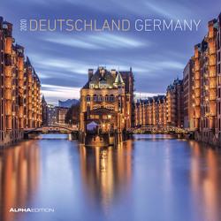 Deutschland 2020 – Germany – Broschürenkalender (30 x 60 geöffnet) – Wandkalender – Landschaftskalender – Wandplaner von ALPHA EDITION