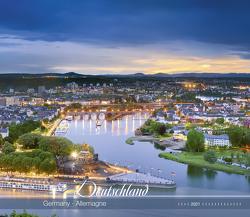 Deutschland 2021 – Bild-Kalender 33,5×29 cm – Germany – Landschaftskalender – Wandplaner – mit Platz für Notizen – Alpha Edition