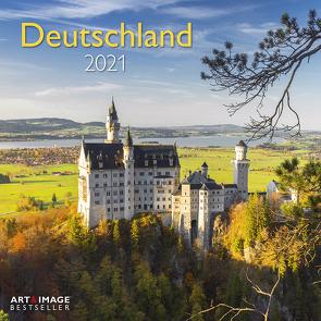 Deutschland 2021 – Wand-Kalender – Broschüren-Kalender – A&I – 30×30 – 30×60 geöffnet