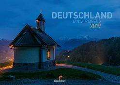 Deutschland – Ein Streifzug – Kalender 2019 (Wandkalender 2019 DIN A3 quer)