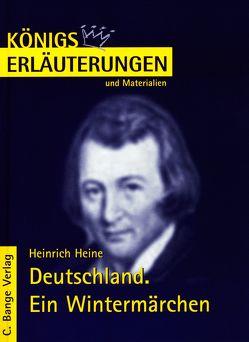 Deutschland. Ein Wintermärchen von Heinrich Heine. von Heine,  Heinrich, Pfister,  Wolfgang