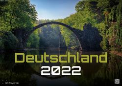 Deutschland – eine Reise zu bezaubernden Landschaften und Sehenswürdigkeiten – 2022 – Kalender DIN A3