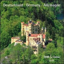 Deutschland Germany 2020 – Broschürenkalender – Wandkalender – mit herausnehmbarem Poster – Format 30 x 30 cm von DUMONT Kalenderverlag