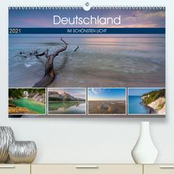 Deutschland im schönsten Licht (Premium, hochwertiger DIN A2 Wandkalender 2021, Kunstdruck in Hochglanz) von Wasilewski,  Martin