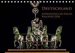 Deutschland Impressionen bei Nacht (Tischkalender 2019 DIN A5 quer) von Marufke,  Thomas
