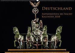 Deutschland Impressionen bei Nacht (Wandkalender 2018 DIN A2 quer) von Marufke,  Thomas