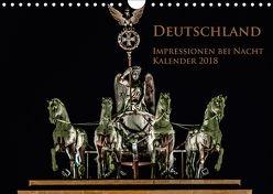 Deutschland Impressionen bei Nacht (Wandkalender 2018 DIN A4 quer) von Marufke,  Thomas