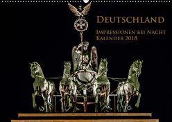Deutschland Impressionen bei Nacht (Wandkalender 2019 DIN A2 quer) von Marufke,  Thomas
