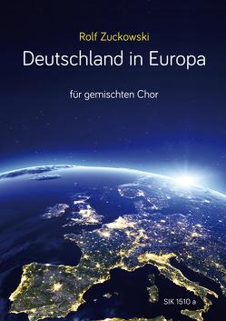 Deutschland in Europa von Zuckowski,  Rolf