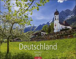 Deutschland Kalender 2021 von Weingarten