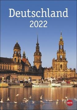 Deutschland Kalender 2022 von Heye