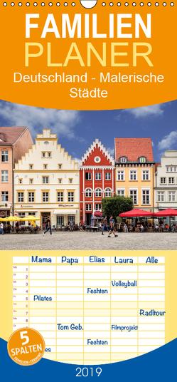 Deutschland – Malerische Städte – Familienplaner hoch (Wandkalender 2019 , 21 cm x 45 cm, hoch) von Becker,  Thomas