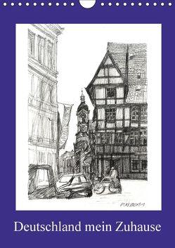 Deutschland mein Zuhause (Wandkalender 2018 DIN A4 hoch) von Peters,  Natascha