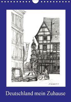 Deutschland mein Zuhause (Wandkalender 2019 DIN A4 hoch) von Peters,  Natascha