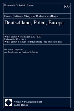 Deutschland, Polen, Europa von Giessmann,  Hans J, Ruchniewicz,  Krzysztof