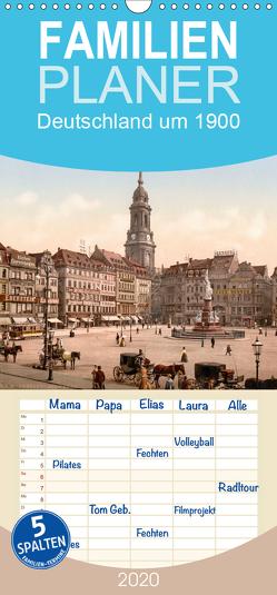 Deutschland um 1900 – Familienplaner hoch (Wandkalender 2020 , 21 cm x 45 cm, hoch) von akg-images