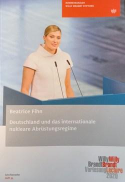 Deutschland und das internationale Abrüstungsregime von Fihn,  Beatrice