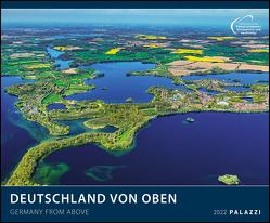 Deutschland von oben 2022 – Bild-Kalender – Wand-Planer – 60×50