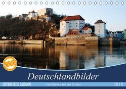 Deutschlandbilder (Tischkalender 2018 DIN A5 quer) von Stein,  Karin
