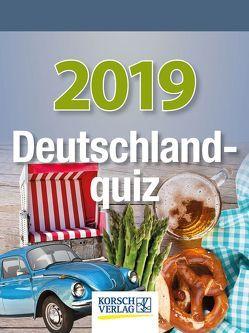 Deutschlandquiz 2019 von Korsch Verlag