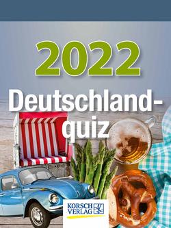 Deutschlandquiz 2022 von Korsch Verlag