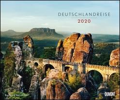 Deutschlandreise 2020 – Fotokunst-Kalender von Berthold Steinhilber – Querformat 58,4 x 48,5 cm – Spiralbindung von DUMONT Kalenderverlag, Steinhilber,  Berthold