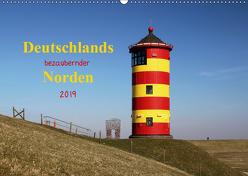 Deutschlands bezaubernder Norden (Wandkalender 2019 DIN A2 quer) von Deigert,  Manuela