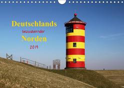 Deutschlands bezaubernder Norden (Wandkalender 2019 DIN A4 quer) von Deigert,  Manuela