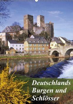 Deutschlands Burgen und Schlösser (Wandkalender 2018 DIN A2 hoch) von Reupert,  Lothar
