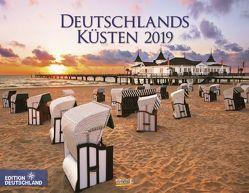 Deutschlands Küsten 2019 von Korsch Verlag