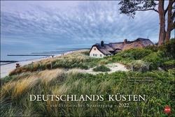 Deutschlands Küsten – Ein literarischer Spaziergang Kalender 2022 von Heye