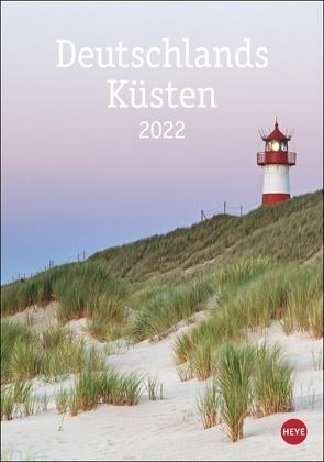 Deutschlands Küsten Kalender 2022 von Heye