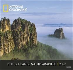 Deutschlands Naturparadiese National Geographic Kalender 2022 von NAT GEO