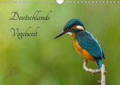 Deutschlands Vogelwelt (Wandkalender 2019 DIN A4 quer) von Honold,  Alexander