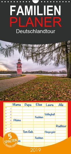Deutschlandtour – Familienplaner hoch (Wandkalender 2019 , 21 cm x 45 cm, hoch) von HeschFoto