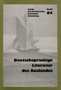 Deutschsprachige Literatur im Ausland von Rosenthal,  Erwin Theodor