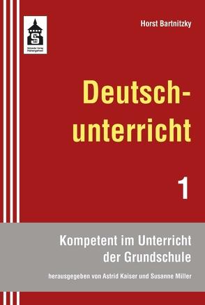 Deutschunterricht von Bartnitzky,  Horst