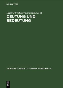 Deutung und Bedeutung von Schludermann,  Brigitte