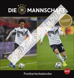 DFB Postkartenkalender 2022 von Heye